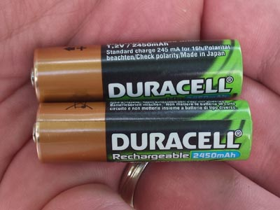How to replace old rechargeable batteries in outdoor solar lights aloadofball Image collections