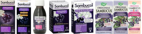 sambucol sambucus extracts