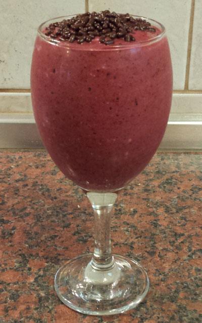 Blueberry Strawberry And Raspberry Smoothie Recipe