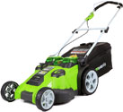 greenworks 25302 lawn mower m