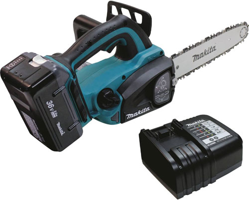 makita hcu02c1 36v lxt lithium Ion cordless chain saw
