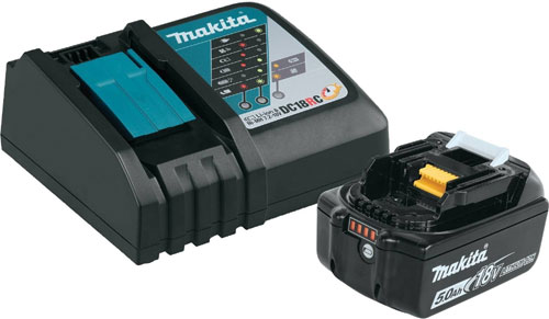 makita bl1850bdc1 charger set